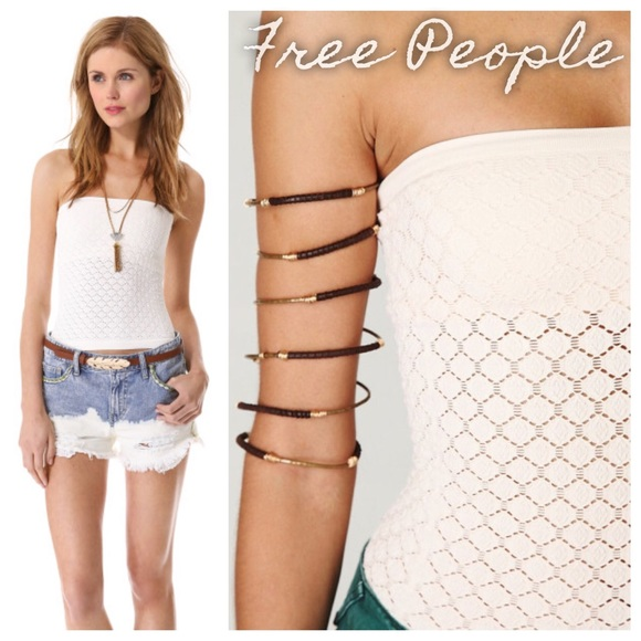 84de435490d5 Free People Tops - Intimately Free People Honey Textured Tube Top