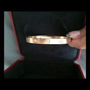 AUTHENTIC Cartier rosegold LOVE bracelet