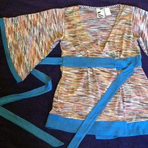 Gorgeous kimono style wrap cardigan