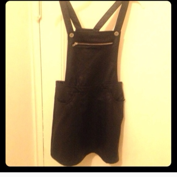 99 dresses skirts faux leather skirt overalls
