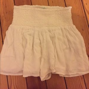 Urban Outfitters (Kimchi Blue) Lace White Shorts