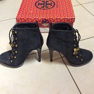 Tory Burch Halima Booties - Black