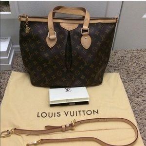 7560d2123d9 Louis Vuitton Bags - Louis Vuitton Palermo Monogram Canvas GM