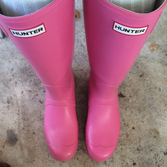 Hunter Boots - ✨Light pink hunter rain boots from Loralie's ...