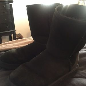 Authentic Black UGG BOOTS short