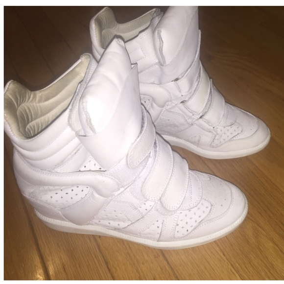 Isabel Marant Shoes - Pre-Owned Isabel Marant Wedge Sneakers
