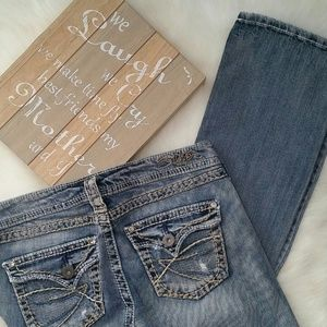 Silver Jeans Denim - Silver Jeans Faded & Distressed Denim