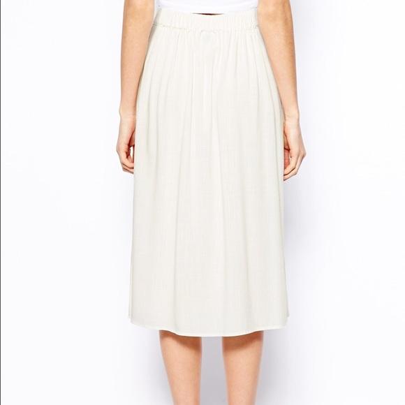 49 asos dresses skirts asos warehouse button midi