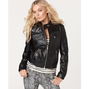 Andrew Charles Jackets & Blazers - Andrew Charles Leather Jacket