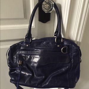 Rebecca Minkoff Mini MAB satchel Navy Leather