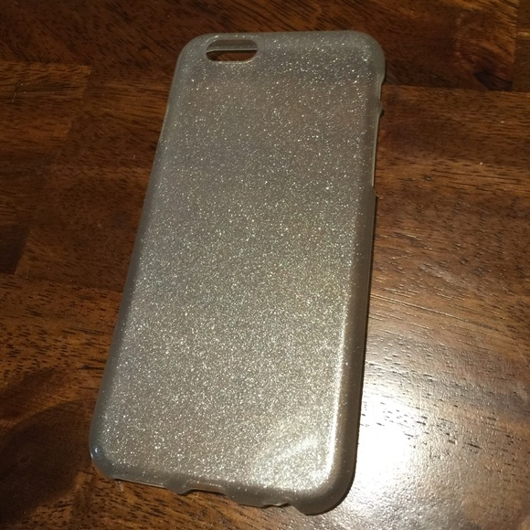 pretty nice 402aa 3ad7a Clear glitter iPhone 6 case!!