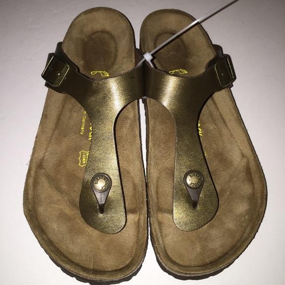 fdccff1b7eed Birkenstock Shoes - New Birkenstock GIZEH Thong Sandal 7 38