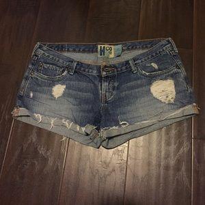 Hollister Denim - Vintage style ripe shorts