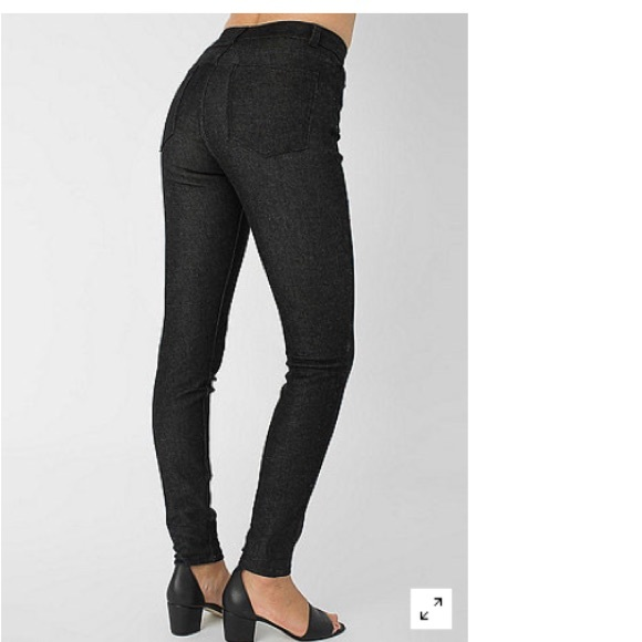 73% off American Apparel Pants - American Apparel Black Pencil ...