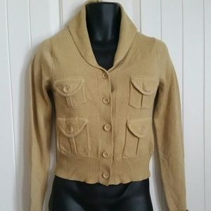 Absolutely  Jackets & Blazers - Absolutely Patch Pocket Sweater