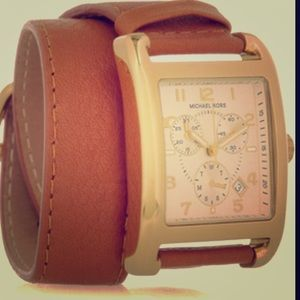 Michael kors wrap around watch