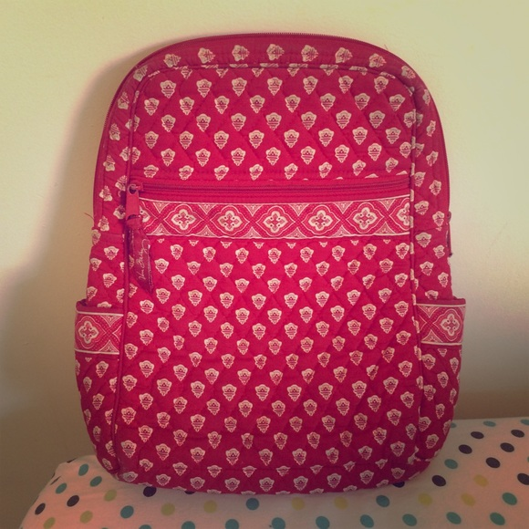 bb2f021625c7 Vera Bradley Retired NANTUCKET RED Small Backpack.  M 558032ef9d64e548790008da