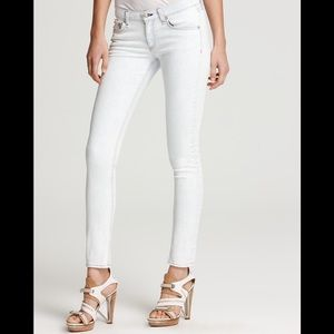 Rag & Bone Bleach out skinny jean size 27