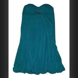 A. Byer Dresses & Skirts - 💕2x HP! Teal strapless dress