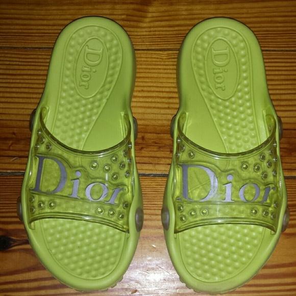 b599209e11d72 Dior Shoes - Authentic dior rubber sandals