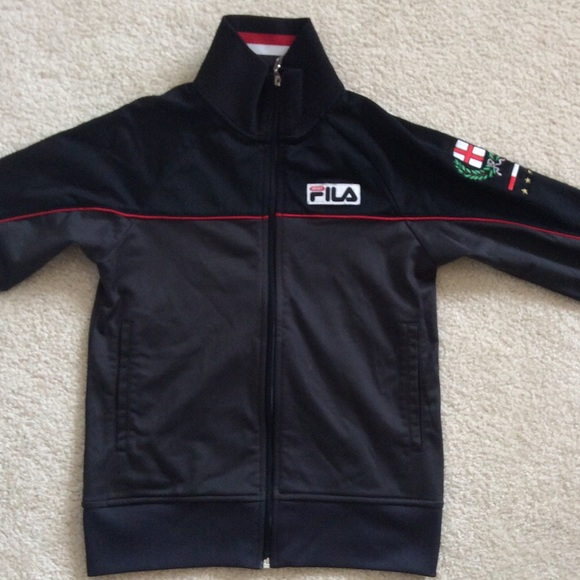 9ee70a54e32c Fila Jackets   Blazers - Boys Fila Sport Italia Zip Up Jacket