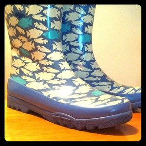Sperry Top-sider Rain Boots -- size 9