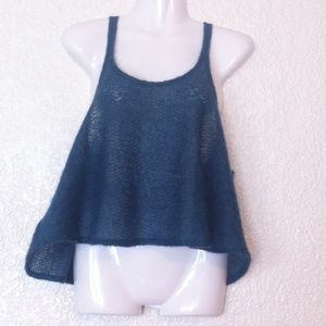 """URBAN RENEWAL """"Curatorial"""" Cropped Knit Top"""