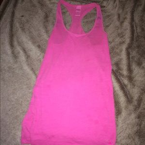 Pink tank top from PINK, size Small
