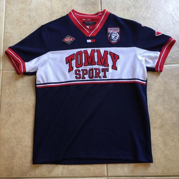 1184fa960f1 Tommy Sport Jersey. M 55808448dbda256dc0001e52