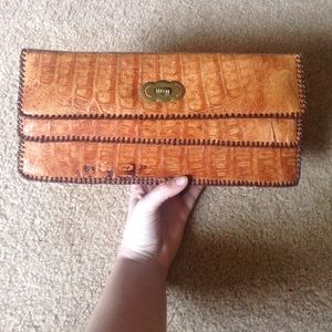Genuine Alligator Clutch purse