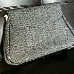 DOLCE & GABBANA Herringbone Clutch Handbag