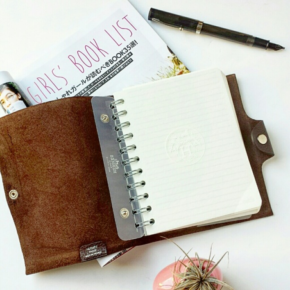 Hermes Ulysee PM Notebook Cover W/ Plain Refill