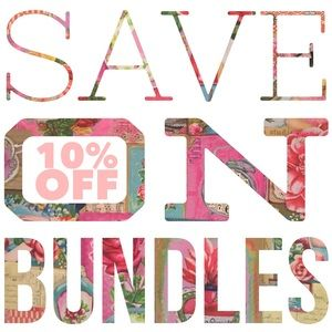 10% off bundles!