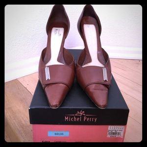 Michel Perry Shoes - Michel Perry 8.5 D'orsay pumps with box