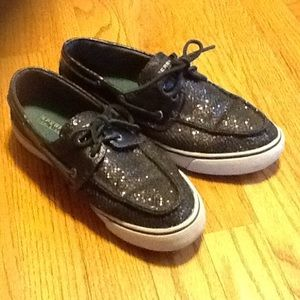 Sperry Top-Sider Shoes - Black Sequins Sperry