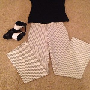 New York and Co pin stripe pants