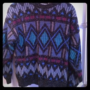 Graphic vintage sweater