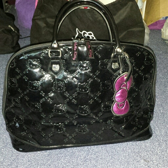 hello kitty large hello kitty embossed bag from lisas