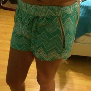 Turquoise Dolphin Shorts