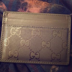 Man Authentic Gucci wallet