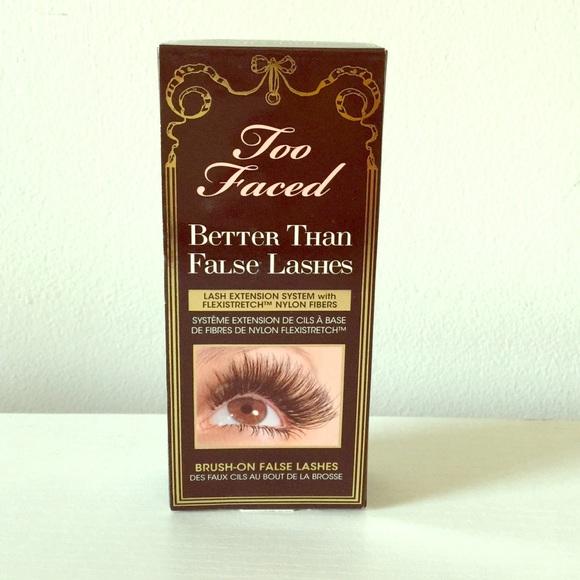 too faced false lash mascara review