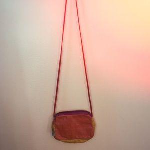 Multicolor 70's Crossbody Bag