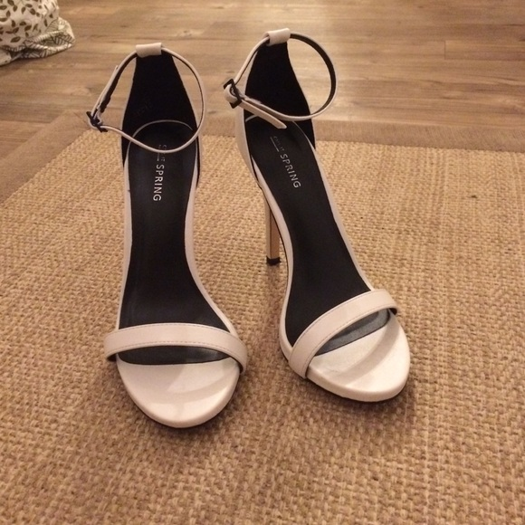 34d154ec1d11 Call It Spring Shoes - White Ankle Strap 4