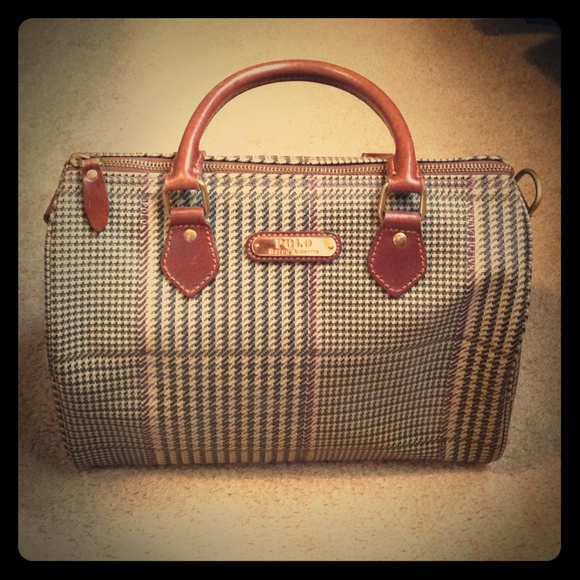 4780dd8856 Vintage Ralph Lauren polo bag. M 5580d612a06f80550b0032ed