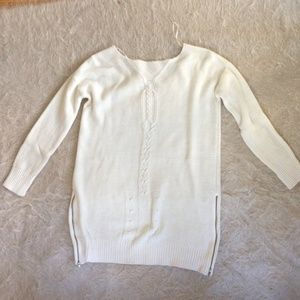 Zara white sweater