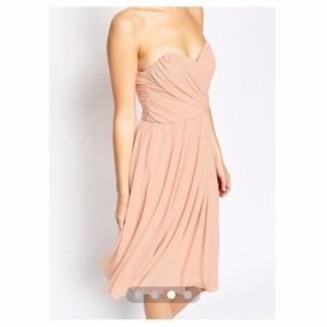 ASOS Chiffon Peach Dress