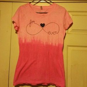 Women's Pink T-shirt Large