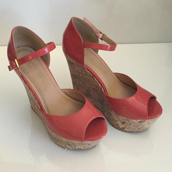 Forever 21 Shoes | Pink Cork Forever21 Wedges | Poshmark