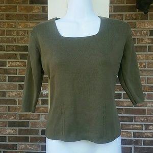 Dress Barn Sweaters - Dress Barn 3/4 sleeve sweater