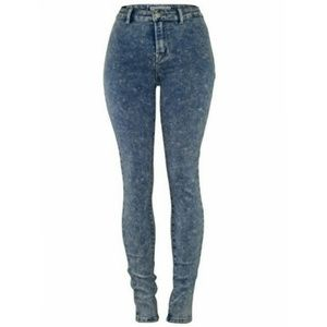 Dark Wash HW Jeggings